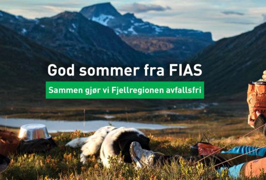 Vi kan alle være med å holde naturen ren - Sammen gjør vi Fjellregionen avfallsfri. Foto: Augustus Moltubakk