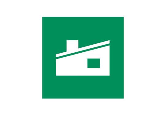 Ikon for åpen gjenvinningsstasjon
